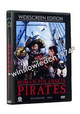 PIRATES (1986) WIDESCREEN REMASTERED DVD Roman Polanski Walter Matthau NTSC