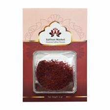 2 Grams Premium Saffron Threads Highest Grade All Red A++