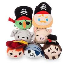 US Disney Parks Pirates of the Caribbean Mini Tsum Tsum Complete set of 7 NWT!