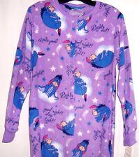 Disney EEYORE Footed Pajamas Purple Footie Good Night Winnie Pooh L NWT LAST ONE