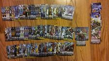 Cardfight!! Vanguard 200 card lot. 12R, 2RR, 1RRR