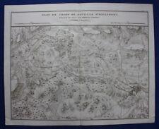 Original antique map POLAND, HEILSBERG, LIDZBARK WARMINSKI, Tardieu, c.1824