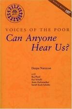Voices of the Poor: Volume 1: Can Anyone Hear Us? (World Bank-ExLibrary