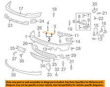 GM OEM Front Bumper-Bumper Upper Bracket 15889552