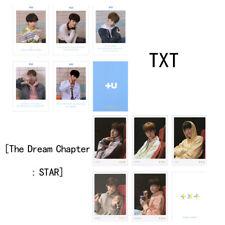 5pcs/Set Kpop TXT CROWN Polaroid Photo Card The Dream Chapter: Star Photocard