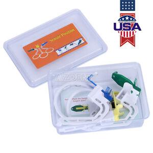 1 Sets Dental Plastic Digital X Ray Film Sensor Positioner Holder w/Line