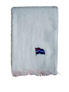 Leather Flag Towel/Handtuch White 28x43 cm / 11x17 inch Pride Gay-Pride