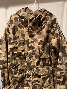 80s USA Vintage Columbia sportswear Mens GoreTex Duck Camo Hunting jacket XL