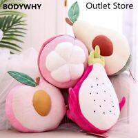Plush Pillow Toys Creative Cushion Pillow Fruit Stuffed Doll Toys Birthday Gift