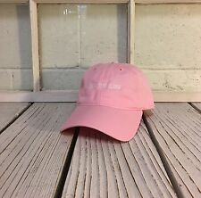 NEW YOU'RE TOO CLOSE EMBROIDERED POLO BASEBALL HAT HIP HOP CAP PINK