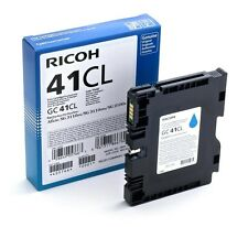 Ricoh GC41CL (Yield: 600 Pages) Light User Cyan Gel Ink Cartridge