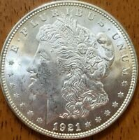 1921 Morgan Dollar BU**** Check It Out!  KM# 110 #AA327-9