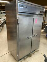 Victory RSA-2D-S7 Commercial 2 Door Stainless Steel Reach In Refrigerator Cooler