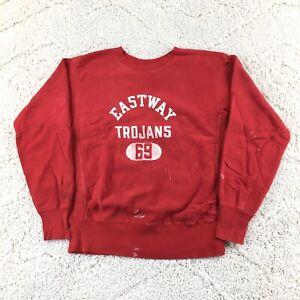 VINTAGE 60's Champion Reverse Weave Crewneck Sweatshirt Single Color Gusset 69