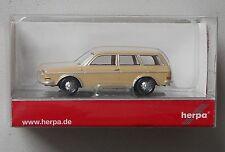 Vw Volkswagen 411 Wagon Herpa 1/87 Plastic Miniature Vehicle Ho Scale