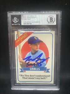 Tom Guiry Signed The Sandlot 2013 Card Smalls BAS Slabbed