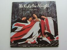THE WHO  ORIGINAL 1979  U.K. LP   THE KIDS ARE ALRIGHT