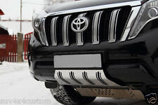 PLAQUE DE PROTECTION CARTERE  INOX , TOYOTA LANDCRUISER 150 2013- EPAISSEUR 2,4
