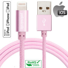 iPhone Charger, Apple Genuine 8 Pin Lightning Cable Braided USB Charger Cord US
