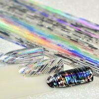 100x4cm Nail Art Foil Stripe Line Laser Transfer Sticker for UV Gel Useful
