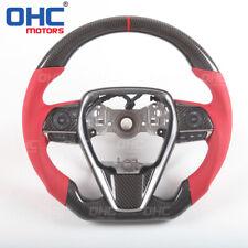 100% Real Carbon Fiber Steering Wheel for Toyota Camry Corolla Rav4 Alvalon