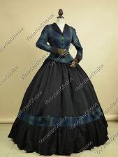 Victorian Civil War Tartan Riding Habit Dress Reenactment Clothing N 122 Xxl