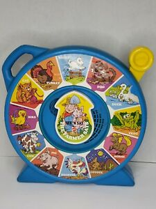Vintage 1989 Mattel See N' Say The Farmer Says Animal Sounds- sounds great