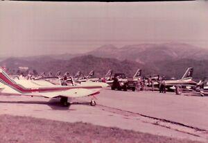 FOTO ANNI '90 - FRECCE TRICOLORI ALL'AERPORTO DI VILLANOVA D'ALBENGA SV  C16-571