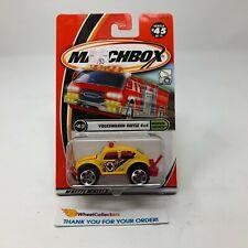 Volkswagen Beetle 4x4 #45 * Yellow * Matchbox * E2