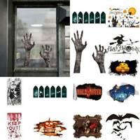 Halloween Removable PVC Wall Stickers Decorative Household Home Art DIY Decor AU