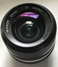 Nikon 24mm f2.8 Ai lens Nikkor - ready to use, Nice Coatings !!!