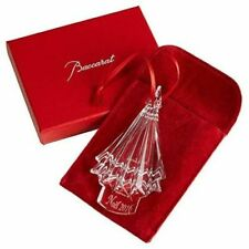 NEW in Box BACCARAT Crystal NOEL 2016 TREE ORNAMENT - CLEAR