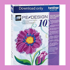 Brother Pe Design 10 Embroidery 100% Genuine Software Lifetime Activation