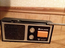 Vintage Midland Weather Station Radio Monitor 13-9018 9v Battery Operated