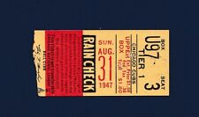 Chicago Cubs vs Pittsburgh Pirates 1947 ticket stub Ralph Kiner Home Run