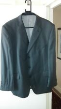 """MARKS & SPENCER TAILORING ULTIMATE PERFORMANCE JACKET GREY 100% WOOL CHEST 46"""" 1"""