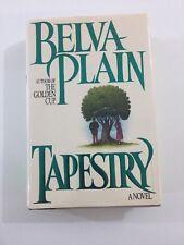 Tapestry - Belva Plain (1988, Hardcover, Dust Jacket)