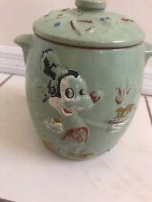 Vintage MICKEY MOUSE & Ceramic COOKIE JAR Walt Disney Productions