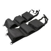 2X Car Truck SUV Front Seat Back Gun Safe Organizer Storage Bag Black