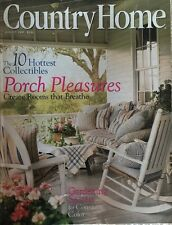 COUNTRY HOME MAGAZINE ~AUGUST 1997~PORCH PLEASURES~