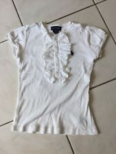 Tee-shirt RALPH LAUREN Taille 7 Ans coton blanc Neuf 39€