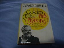 GOLDEN BATS & PINK PIGEONS FLORA FAUNA OF UNIQUE ISLAND GERALD DURRELL 1977 1st