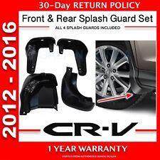 Genuine OEM Honda CR-V Splash Guard Set 2012 - 2016   (08P00-T0A-100)