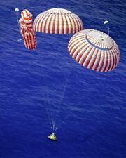 "New 8x10 NASA Photo: Command Module ""Kitty Hawk"" at Splashdown, Apollo 15"