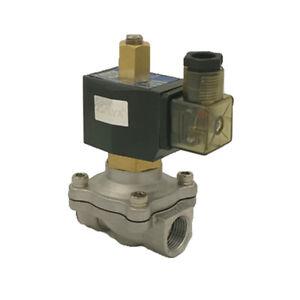 Magnetventil Edelstahl N/C AC220V/DC24/12V Wasserdicht,G 1/2 3/4 1 Normalerweise