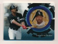 2020 Topps Update Player Medallion Black Parallel Coin ELOY JIMENEZ 96/199
