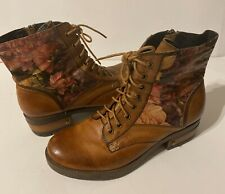 Lartiste Marty Boots Camel 41 Euro (Women US 9.5 - 10) Genuine Leather