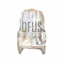 """plastic chair bag. 72"""" x 54"""" large poly dust cover. Protective chair cover."""