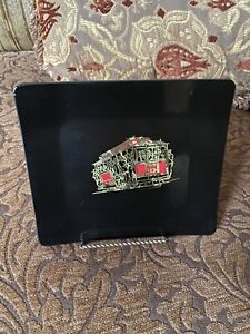 Vintage Couroc Cable Car San Francisco Mid Century California Tray
