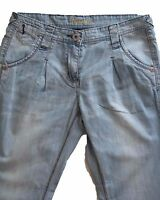 New Womens Blue Tapered NEXT Jeans Size 14 Petite LABEL FAULT RRP £32